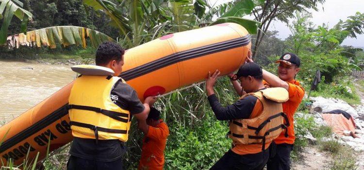 Pencarian Korban Hanyut (Sungai Cigede)