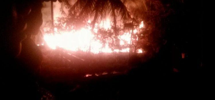 Terjadi Bencana Kebakaran di Kp. Bedeng