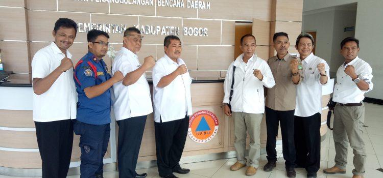 Kunjungan Kerja BPBD dan Damkar Kota Sukabumi, Rabu 21-08-2019
