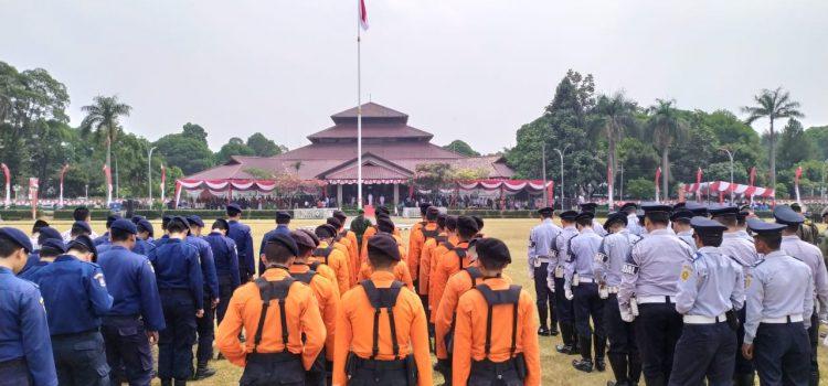 Memperingati Upacara Hari Kemerdekaan Republik Indonesia yang ke 74