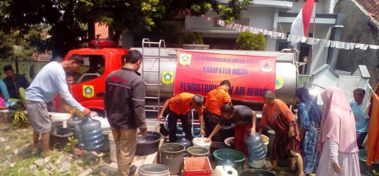 Pendistibusian Air Bersih 4 Kecamatan di Wilayah Kabupaten Bogor