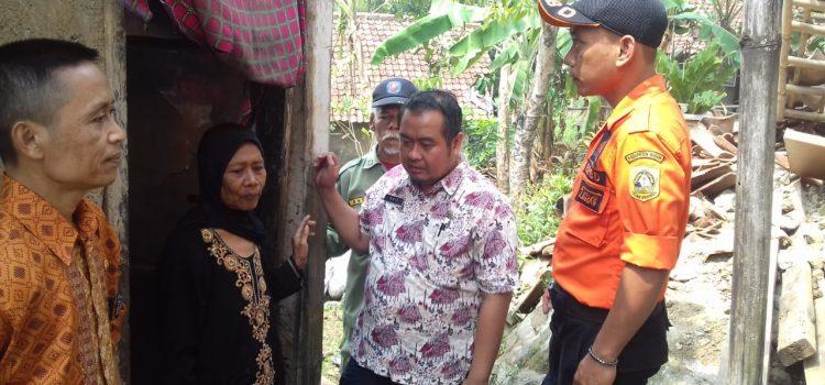 Rumah Ambruk  di Kecamatan Ciampea, 04 September 2019