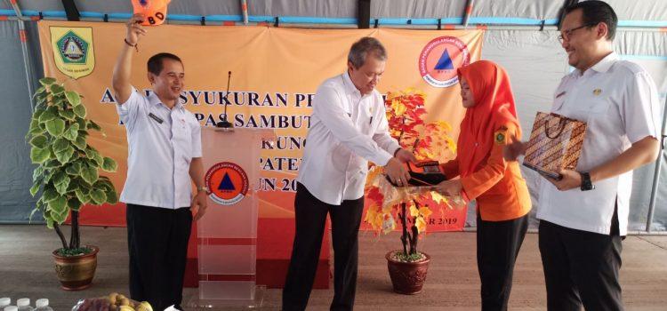 Syukuran Pelantikan dan Lepas Sambut Pejabat di Lingkup BPBD Kabupaten Bogor