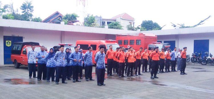 BPBD Kabupaten Bogor Gelar Upacara Hari Kesadaran Nasional Tahun 2020