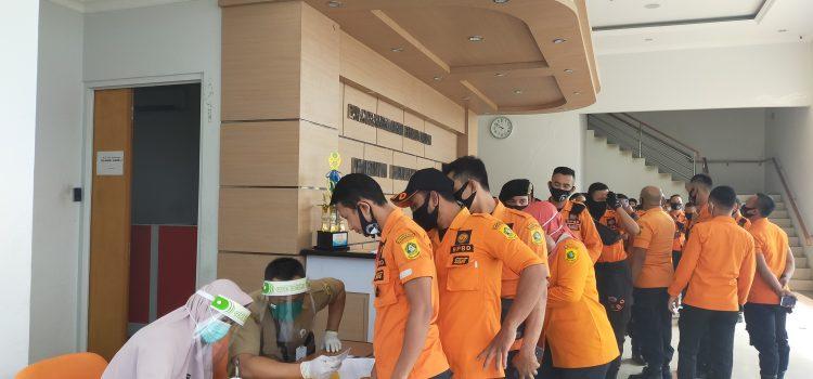 DINKES Rapid Test di BPBD Kabupaten Bogor