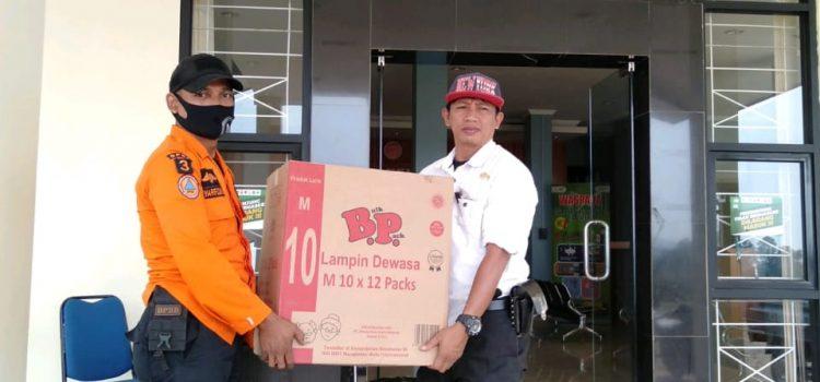 Distribusi Logistik Korban terdampak bencana ke Kecamatan Sukajaya