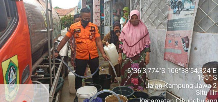 Pendistribusian Air Bersih di Kecamatan Cibungbulang