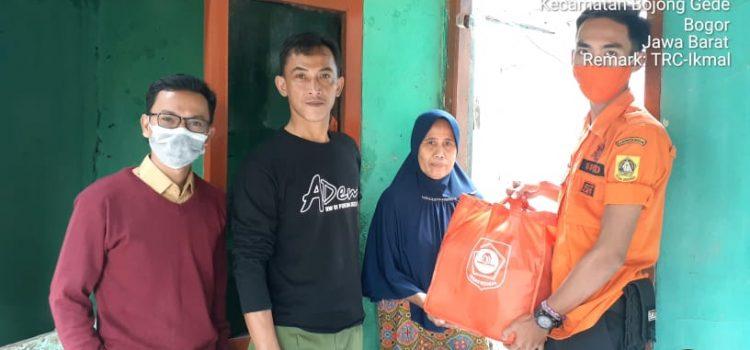 Pendistribusian Logistik Korban Dampak Bencana di kecamatan Bojonggede