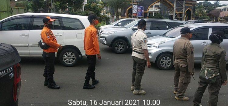BPBD Kabupaten Bogor Siaga Pemberlakuan PPKM