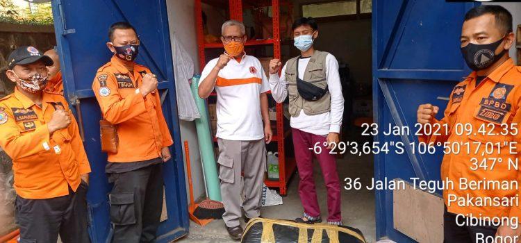 BPBD Menerima Bantuan Donasi untuk Bencana Gunung Mas