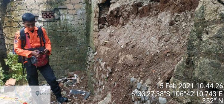 BPBD Kabupaten Bogor Siaga Tanah longsor Kecamatan ciampea
