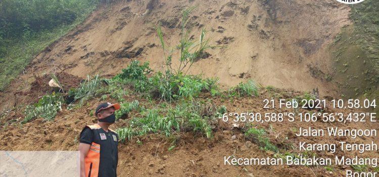 Bencana Longsor Babakan Madang, 2 Kampung Terdampak