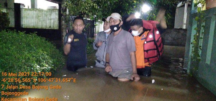 Banjir Perumahan Griya Yasa Lestari Kecamatan Bojong Gede